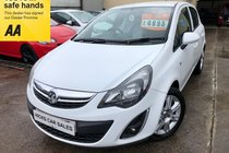 Vauxhall Corsa ENERGY AC ONLY 46,000 FSH NEW MOT PX WELCOME IDEAL FIRST CAR FINANCE AVAILABLE