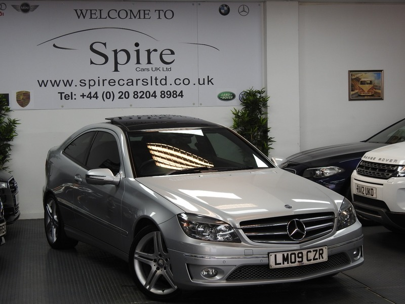 mercedes cl clc 220 cdi sport sold sold sold spire cars uk ltd. Black Bedroom Furniture Sets. Home Design Ideas