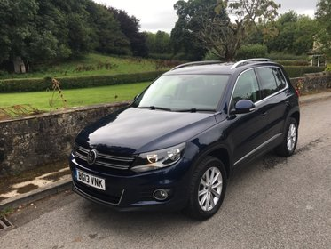Volkswagen Tiguan SE TDI BLUEMOTION TECHNOLOGY 4MOTION DSG