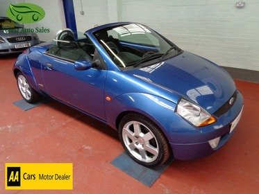 Ford StreetKa 1.6 LUXURY 50000 miles with good history, Leather and Alloy wheels