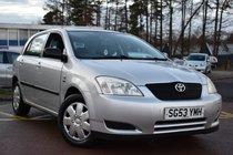 Toyota Corolla VVTI T2