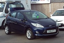 Ford Fiesta ZETEC 1.4 82,000 MILES SERVICE HISTORY GOOD VALUE