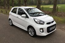 Kia Picanto 3 FULL KIA HISTORY HUGE SPEC ONE LADY OWNER