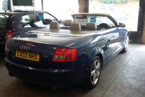 Audi A4 3.0 Cabriolet Sport LAST OWNER 14 YEARS