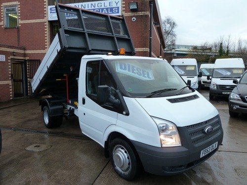 Ford Transit T350 Tipper 125ps Euro 5