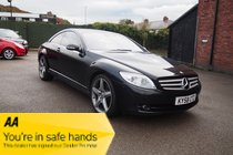 Mercedes CL 500 FULL MERCEDES HISTORY ! 43,844 MILES ! 1 OWNER ! £80 PW & NO DEPOSIT !