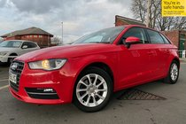 Audi A3 TDI SE 2.0 150 NAV used car in laser red