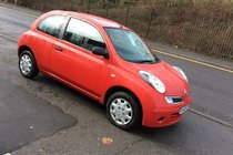 Nissan Micra 1.2 Visia - MOTD SEPTEMBER 2018 . 1 YRS FREE AA COVER INCLUDED.