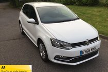 Volkswagen Polo MATCH TSI FULL VW HISTORY BLUETOOTH AIR CONDITIONING PARKING SENSORS