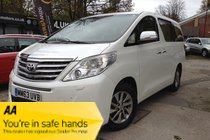 Toyota Alphard Left hand drive, delivery mileage only!!!!