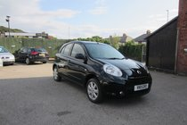 Nissan Micra ACENTA ONLY 38,966 MILES ! £30 YEAR TAX ! SAT NAV+PHONE+BLUETOOTH !