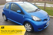 Toyota AYGO VVT-I BLUE - FULL MOT - ANY PX WELCOME
