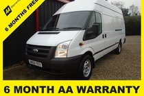 Ford Transit 350 H/R P/V JUMBO 6 MONTH WARRANTY-12 MONTH MOT-12 MONTH SERVICE-12 MONTH AA COVER