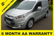 Ford Connect 200 LIMITED P/V 6 MONTH AA WARRANTY - 12 MONTH MOT - FULL SERVICE - 12 MONTH AA BREAKDOWN COVER