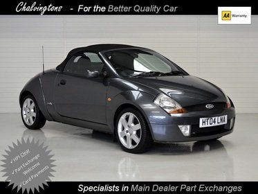 Ford StreetKa 1.6 Luxury Convertible, PART EXCHANGE TO CLEAR, Full Leather, November 2017 MOT