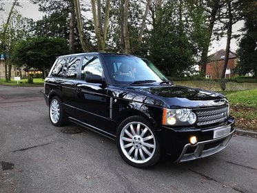 Land Rover Range Rover TDV8 Vogue + OVERFINCH Aero Styling Package