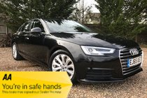 Audi A4 TDI ULTRA SE SALOON WITH VERY LOW MILEAGE