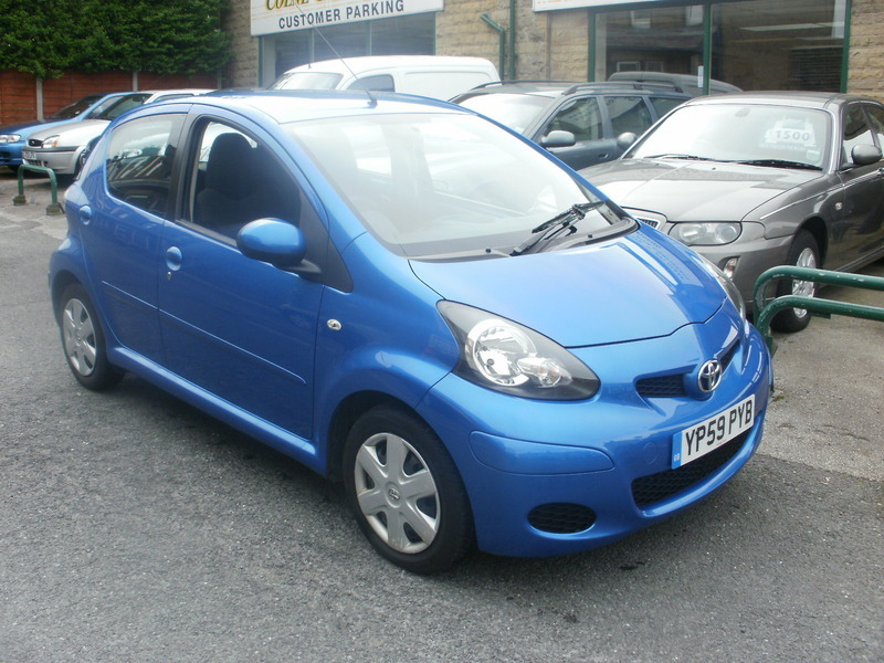 Toyota Aygo 1 0vvt I Blue Colne Car Centre