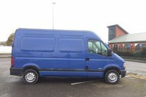 Renault Master MM33 2.2 DCI MWB *** 1 FORMER KEEPER *** LOW WARRANTED 55,063 MILES *** 12 MONTH MOT INCLUDED