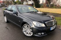 Mercedes C Class C250 CDI BLUEEFFICIENCY ELEGANCE ED125 HpiClear-FSH-Long Mot-Serviced