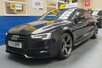 Audi A5 TDI S LINE BLACK EDITION *APPLY FOR FINANCE ON OUR WEBSITE*