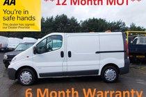 Vauxhall Vivaro 2900CDTI SWB SHR P/V