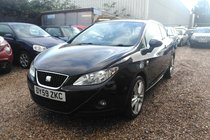 SEAT Ibiza 1.6 TDI CR Sport SportCoupe 3dr*HPI CLEAR*FULL SERVICE HISTORY*2 KEYS*MOT DUE 28/02/2018*FREE 6 MONTHS WARRANTY*FREE 12 MONTHS A