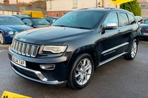 Jeep Grand Cherokee 3.0 V6 CRD Summit Auto 4WD 5dr