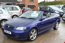 Vauxhall Astra 1.8i 16v Exclusiv - Stunning cabriolet - A cherished car through and through - Mint condition - Low Mileage - £200 Off