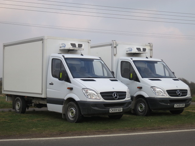 e7ada04912 Mercedes Sprinter 313 CDI MWB CHILLERVAN