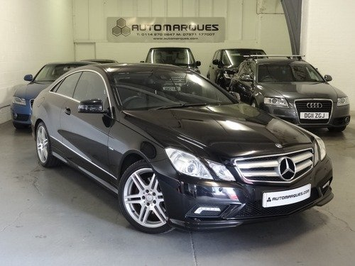 Mercedes E Class E 350 CDI BLUE EFFICIENCY SPORT