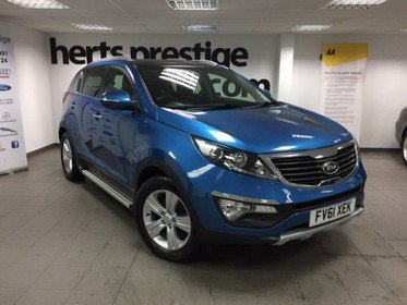 Kia Sportage 1.6 GDI 2 2WD With Electric Pan Roof, Privacy Glass, Bluetooth, Great Service History