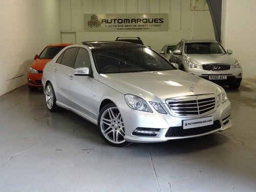 Mercedes E Class 3.0 E 350 CDI BLUEEFFICIENCY SPORT EDITION 125 7G-tronic AUTO