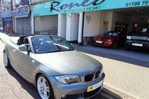 BMW 1 SERIES 118d M SPORT CONVERTIBLE, STUNNING !