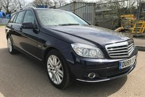 Mercedes C Class C 220 CDI Elegance BEIGE LEATHER FULL MERCEDES HISTORY