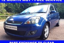 Ford Fiesta Zetec Climate 1.4TDCi068 ##PX TO CLEAR## 12 MONTHS MOT - FULL SERVICE