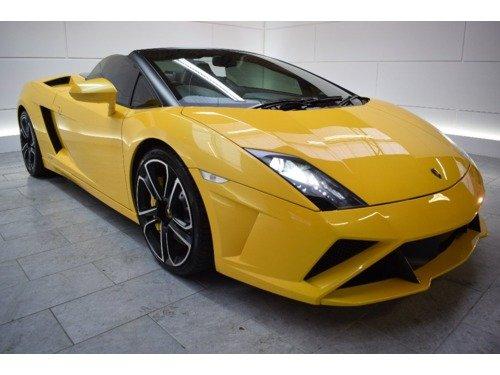 Lamborghini Gallardo 5.2 V10 LP560-4 Spyder E-Gear 4WD [50th Anniversary]