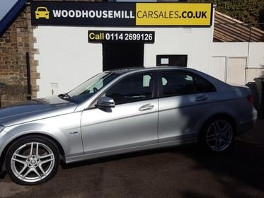 Mercedes C Class 2.1 C200 CDI BlueEFFICIENCY SE 7G-Tronic 4dr