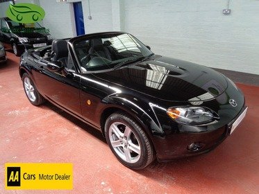 Mazda MX5 2.0I SPORT(OPTIONS PACK) RARE ROADSTER CONVERTIBLE HARD TOP, TWO OWNERS, FULL MAZDA SERVICE HISTORY