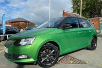 Skoda Fabia SE TSI used car in Metallic Fantasy Green