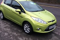 Ford Fiesta Zetec 1.4 BUY NO DEP @ £29 A WEEK T&C APPLY