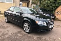 Audi A4 TDI TDV SE LEATHER SATNAV TOP SPEC