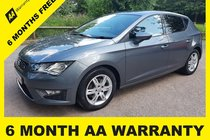 SEAT Leon TDI FR 6 MONTH AA WARRANTY - 12 MONTH MOT - FULL SERVICE - 12 MONTH AA BREAKDOWN COVER