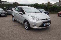 Ford Fiesta ZETEC SERVICE HISTORY ! LOW MILES ! 99% FINANCE APPROVAL !