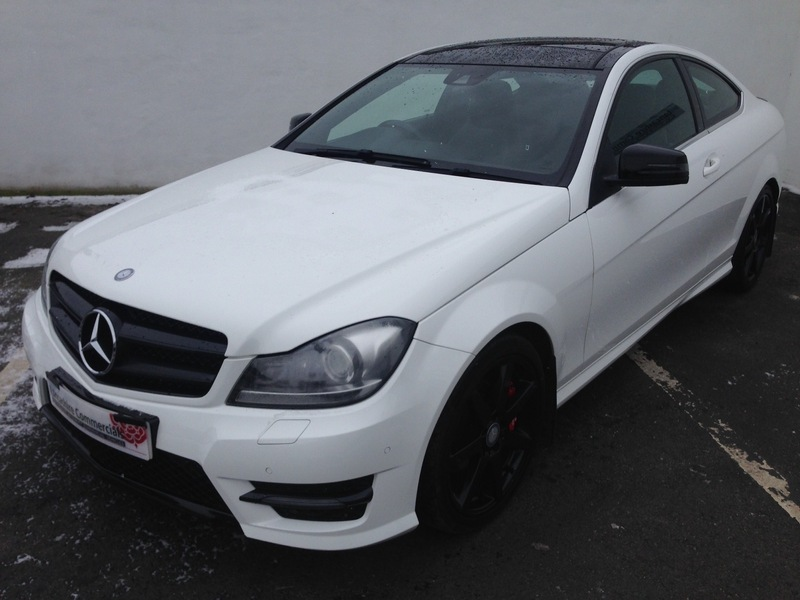 Mercedes c class c220 cdi coupe blueefficiency amg sport c63 bodystyling px finance welcome - Mercedes c220 coupe amg sport ...