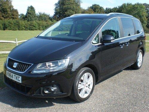 SEAT Alhambra 2.0 TDI CR DSG SE Auto