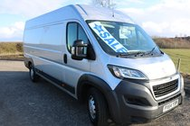 Peugeot Boxer XLWB EXCELLENT CONDITION LATEST SHAPE *AIR CON* PLY LINED IDEAL CAMPER CONVERSION ONE OWNER