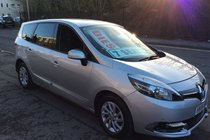 Renault Scenic Dynamique TomTom 7 SEATER.BUY NO DEP & £46 A WEEK T&C
