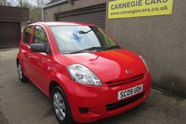 Daihatsu Sirion S - £30 ROAD TAX, ONLY 55552 MILES, MOT, SERVICED, WARRANTY, & AA COVER