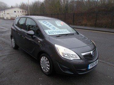 Vauxhall Meriva 1.7CDTI 16V AUTO  BUY NO DEP & £27 A WEEK